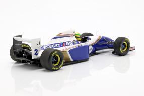 diecast Modellautos Williams FW16 San Marino GP Senna 1:18 Minichamps