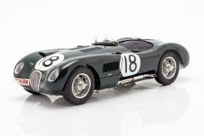 Jaguar C-Type Le Mans 1953 1:18 CMC