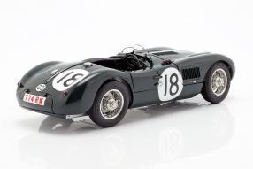diecast miniatures Jaguar C-Type Le Mans 1953 1:18 CMC Nr. 18