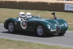 Jaguar C-Type Le Mans 1953, Copyright Foto: Brian Snelson