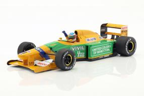 Michael Schumacher Benetton B192 1st victory Spa 1:18