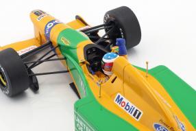 diecast miniatures Michael Schumacher Benetton B192 1st victory Spa 1:18