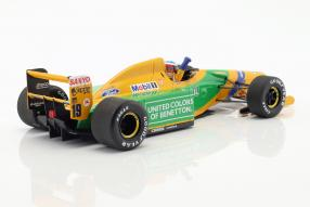 modellautos modelcars Michael Schumacher Benetton B192 1st victory Spa 1:18