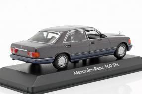 modellautos modelcars Mercedes-Benz 560 SEL 1:43 Maxichamps