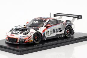 Modellautos Porsche 911 GT3 R No. 117 24 Spa 2018 1:43