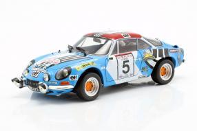 Alpine A110 1973 Tour de Corse 1:18