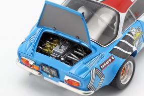 diecast miniatures Alpine A110 1973 1:18 Kyosho
