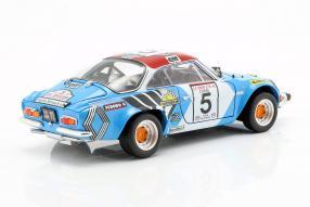 modelcars Modellini Alpine A110 1973 1:18 Kyosho