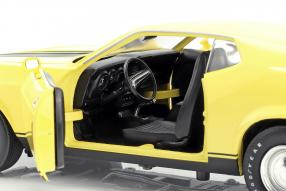 modelcars modellautos Ford Mustang Mach 1 1973, Eleanor 1974 1:18