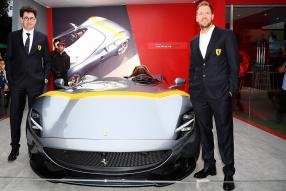 Binotto / Vettel, Ferrari SP1 / copyright Foto: Ferrari S.p.A.
