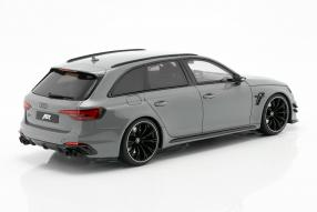 miniatures Abt Audi RS4-R Avant 2019 1:18