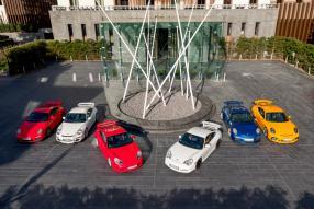 Alle Porsche 911 GT3 im Überblick, copyright Foto: Porsche AG