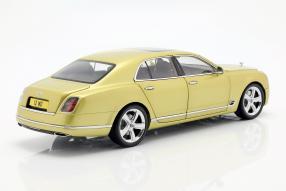 modellautos Bentley Mulsanne Speed 2017 1:18