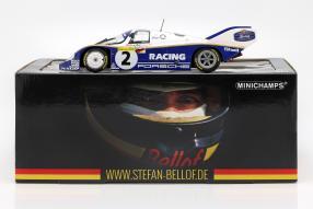 modelcars Stefan Bellof Porsche 956 Nürburgring 1983 1:18 Minichamps