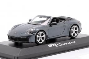 diecast miniatures Porsche 911 992 Carrera 2 Cabriolet 2019 1:43
