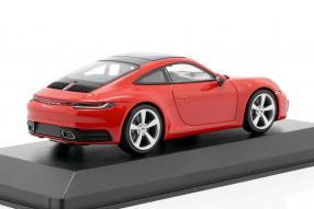 miniatures Porsche 911 992 Carrera 2 2019 1:43