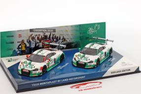 miniatures Audi R8 LMS Montaplast by Land Motorsport 2016 1:43
