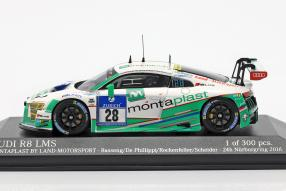 Audi R8 LMS Montaplast by Land Motorsport 2016 1:43
