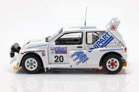 diecast miniatures MG Metro 6R4 1986 1:18