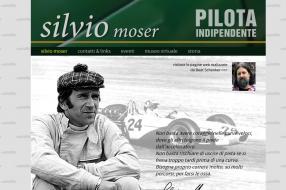 Screenshot Website silviomoser.ch