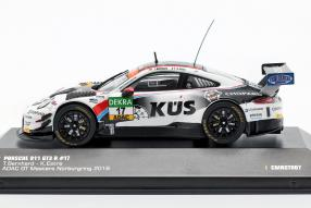 diecast miniatures Porsche 911 GT3 2018 1:43 ADAC gt masters CMR