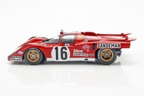 diecast miniatures Ferrari 512M 1971 1:18