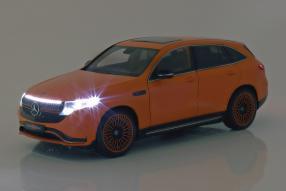 diecast miniatures Mercedes-Benz EQC 400 IAA 2019 1:18