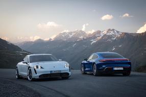 Porsche Taycan Turbo und Turbo S / copyright: Porsche AG