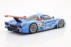 diecast miniatures Nissan R390 GT1 Le Mans 1998 1:18