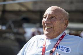 Sir Stirling Moss heute / copyright Foto: Daimler AG