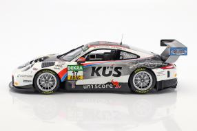 modellautos Porsche 911 GT3 R KÜS Tem75 ADAC GT Masters 2017 1:18