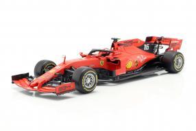Ferrari SF90 2019 Leclerc Bburago 1:18