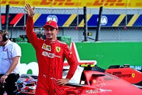 Charles Leclerc in Italien 2019 / copyright Foto: Ferrari S.p.A.