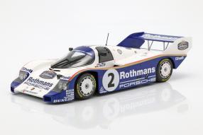 Porsche 956 Sandown Park 1984 Bellof 1:18