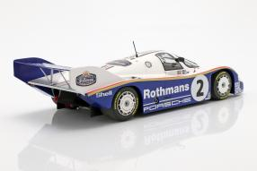 diecast miniatures Porsche 956 1984 Sandown Park Bellof 1:18