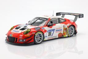 Porsche 911 GT3 R Frikadelli Racing 2018 1:43