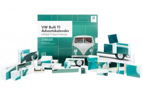 VW T1 Bulli Adventskalender 2019 1:43