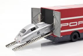 diecast miniatures Porsche Renntransporter Mercedes-Benz O 317 1:43
