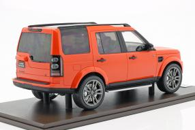 miniatures Land Rover Discovery IV 2016 1:18