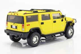 modelcars Hummer H2 2003 Entourage 1:18