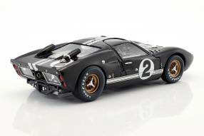 modellautos miniatures Ford GT40 Mk. II No. 2 winner Le Mans 1966 1:18