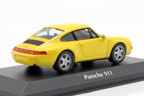 diecast miniatures Porsche 911 993 1:43 Maxichamps