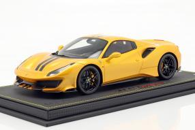 modelcars Ferrari 488 pista spider 2018 1:18