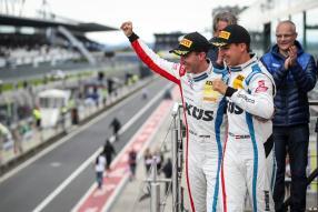 Timo Bernhard, Klaus Bachler 2019, Foto: Team75 Motorsport, Gruppe C Photography