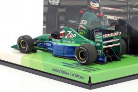 miniatures Jordan 191 F1 1991 Schumacher 1:43