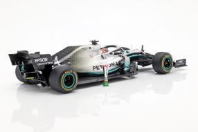 modelcars Mercedes-AMG F1 W10 2019 1:18