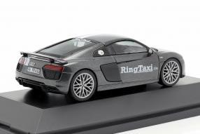 diecast miniatures Audi R8 V10 plus Ringtaxi 1:43