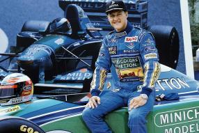 Michael Schumacher 1994, copyright Fotos: RTL Kommunikation, TVNow