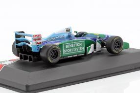 diecast miniatures modellautos Bentton B194 No. 5 worldchampion 1994 1:43