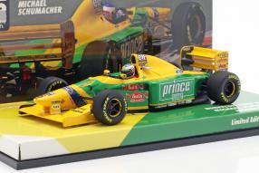 Benetton B193B Schumacher 1993 1:43